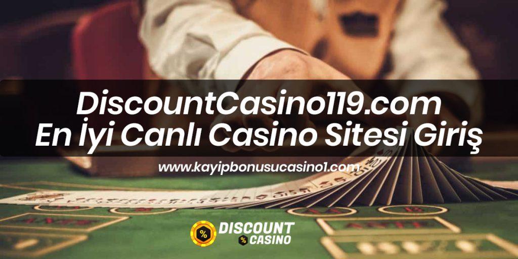 DiscountCasino119.com En İyi Canlı Casino Sitesi Giriş