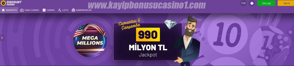 Discount Casino130 Giriş Adresi ve Loto Menüsü